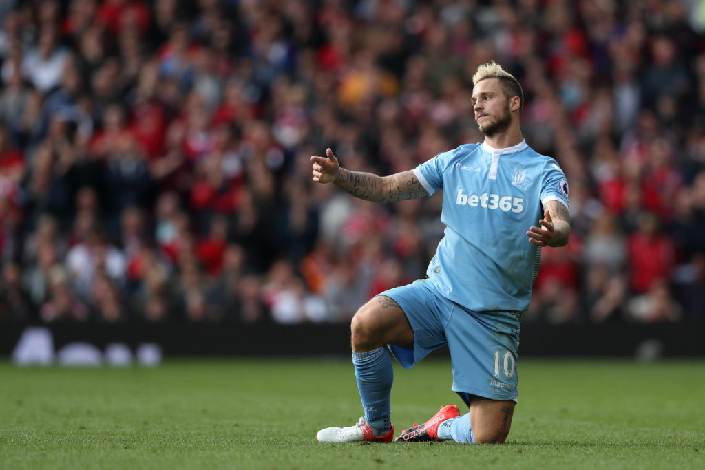 Hughes keen to keep Stoke winger Arnautovic