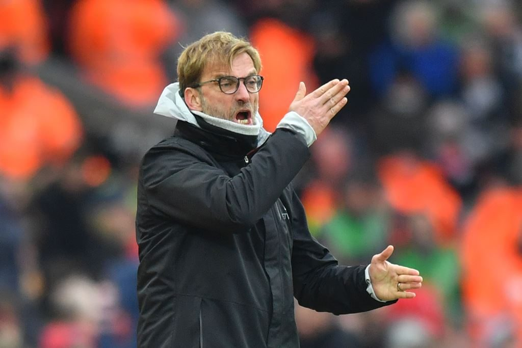 Klopp happy to have fight for Liverpool No.1 jersey