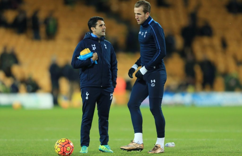 Assistant Perez confident Spurs ready to cope with injuries